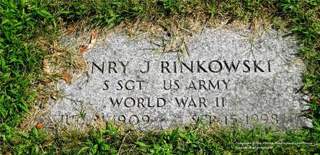 RINKOWSKI, HENRY J. - Lucas County, Ohio | HENRY J. RINKOWSKI - Ohio Gravestone Photos