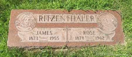 RITZENTHALER, ROSE - Lucas County, Ohio   ROSE RITZENTHALER - Ohio Gravestone Photos