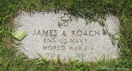 ROACH, JAMES A. - Lucas County, Ohio | JAMES A. ROACH - Ohio Gravestone Photos