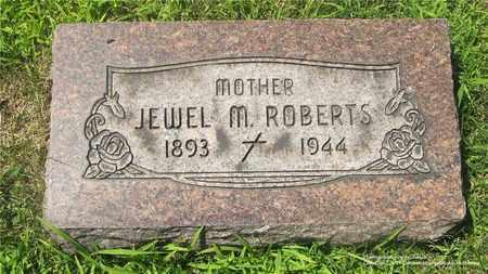 ROBERTS, JEWEL M. - Lucas County, Ohio | JEWEL M. ROBERTS - Ohio Gravestone Photos