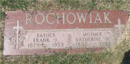 ROCHOWIAK, KATHERINE M. - Lucas County, Ohio   KATHERINE M. ROCHOWIAK - Ohio Gravestone Photos