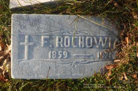 ROCHOWIAK, FRANCISCA - Lucas County, Ohio | FRANCISCA ROCHOWIAK - Ohio Gravestone Photos