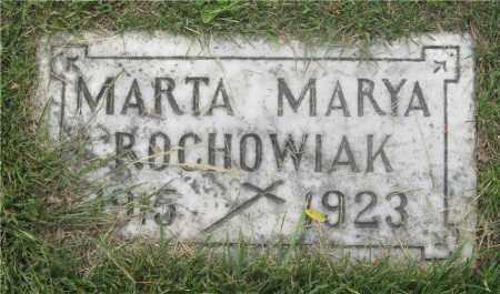 ROCHOWIAK, MARTA MARYA - Lucas County, Ohio | MARTA MARYA ROCHOWIAK - Ohio Gravestone Photos