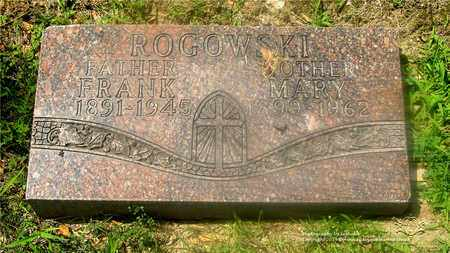 ROGOWSKI, MARY - Lucas County, Ohio | MARY ROGOWSKI - Ohio Gravestone Photos