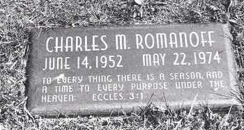 ROMANOFF, CHARLES - Lucas County, Ohio   CHARLES ROMANOFF - Ohio Gravestone Photos