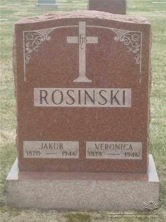 BAGROWSKI ROSINSKI, VERONICA - Lucas County, Ohio | VERONICA BAGROWSKI ROSINSKI - Ohio Gravestone Photos