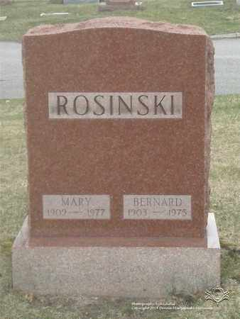 ROSINSKI, MARY - Lucas County, Ohio | MARY ROSINSKI - Ohio Gravestone Photos