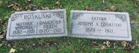 ROSKUSKI, EILEEN - Lucas County, Ohio | EILEEN ROSKUSKI - Ohio Gravestone Photos