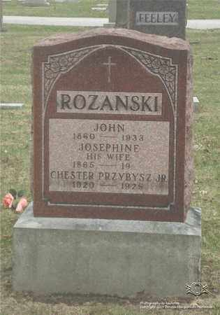 SZYMANSKI ROZANSKI, JOSEPHINE - Lucas County, Ohio   JOSEPHINE SZYMANSKI ROZANSKI - Ohio Gravestone Photos