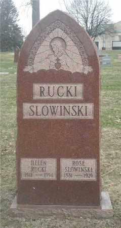 SLOWINSKI, ROSE - Lucas County, Ohio | ROSE SLOWINSKI - Ohio Gravestone Photos