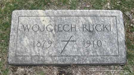 RUCKI, WOJCIECH - Lucas County, Ohio | WOJCIECH RUCKI - Ohio Gravestone Photos