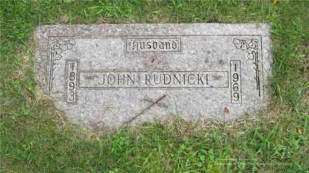 RUDNICKI, JOHN - Lucas County, Ohio | JOHN RUDNICKI - Ohio Gravestone Photos
