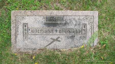 KAMINSKI RUDNICKI, JOSEPHINE - Lucas County, Ohio | JOSEPHINE KAMINSKI RUDNICKI - Ohio Gravestone Photos