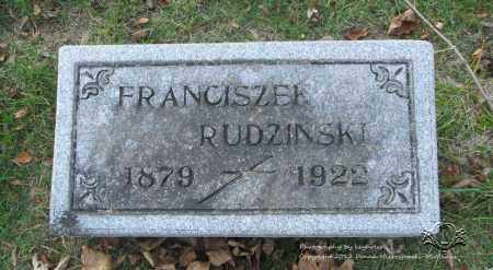 RUDZINSKI, FRANCISZEK - Lucas County, Ohio | FRANCISZEK RUDZINSKI - Ohio Gravestone Photos