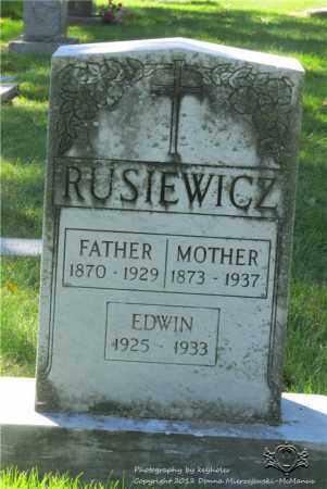 RUSIEWICZ, ANTONINA - Lucas County, Ohio | ANTONINA RUSIEWICZ - Ohio Gravestone Photos