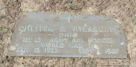 RYBARCZYK, CHESTER A. - Lucas County, Ohio   CHESTER A. RYBARCZYK - Ohio Gravestone Photos