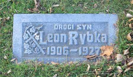 RYBKA, LEON - Lucas County, Ohio   LEON RYBKA - Ohio Gravestone Photos