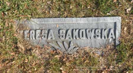 SAKOWSKA, TERESA - Lucas County, Ohio   TERESA SAKOWSKA - Ohio Gravestone Photos
