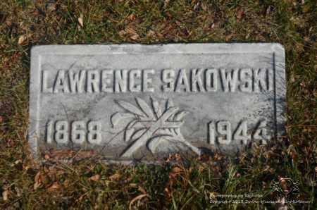 SAKOWSKI, LAWRENCE - Lucas County, Ohio | LAWRENCE SAKOWSKI - Ohio Gravestone Photos