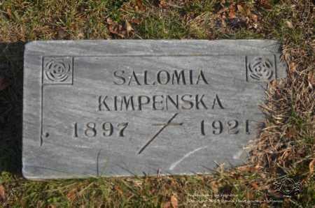MATUSZYNSKI KIMPENSKA, SALOMIA - Lucas County, Ohio | SALOMIA MATUSZYNSKI KIMPENSKA - Ohio Gravestone Photos