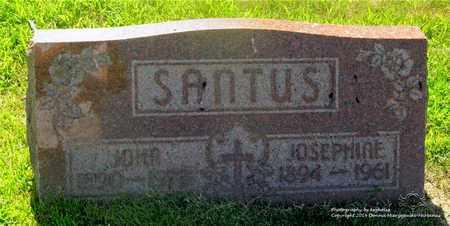 SANTUS, JOSEPHINE - Lucas County, Ohio | JOSEPHINE SANTUS - Ohio Gravestone Photos