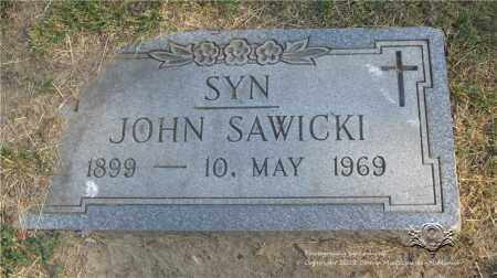 SAWICKI, JOHN - Lucas County, Ohio | JOHN SAWICKI - Ohio Gravestone Photos