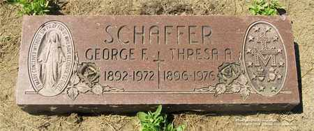 SCHAFFER, THRESA A. - Lucas County, Ohio | THRESA A. SCHAFFER - Ohio Gravestone Photos
