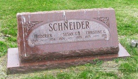 BICKER SCHNEIDER, SUSAN G. - Lucas County, Ohio | SUSAN G. BICKER SCHNEIDER - Ohio Gravestone Photos