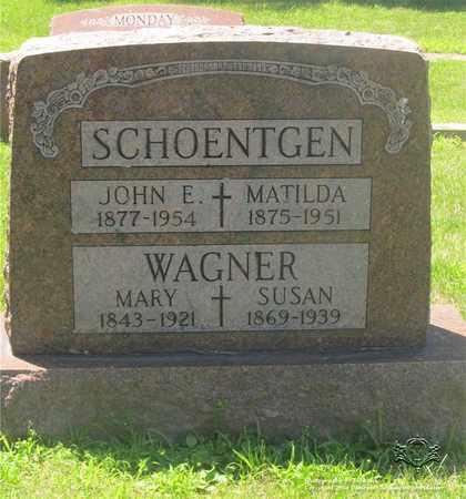NELLIS SCHOENTGEN, MATILDA - Lucas County, Ohio | MATILDA NELLIS SCHOENTGEN - Ohio Gravestone Photos
