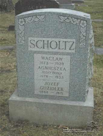 GUZIOLEK, JOZEF - Lucas County, Ohio | JOZEF GUZIOLEK - Ohio Gravestone Photos