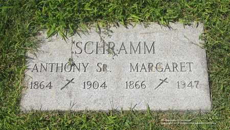 SCHRAMM, ANTHONY SR. - Lucas County, Ohio | ANTHONY SR. SCHRAMM - Ohio Gravestone Photos