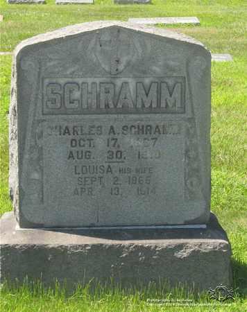 SCHRAMM, CHARLES A. - Lucas County, Ohio | CHARLES A. SCHRAMM - Ohio Gravestone Photos