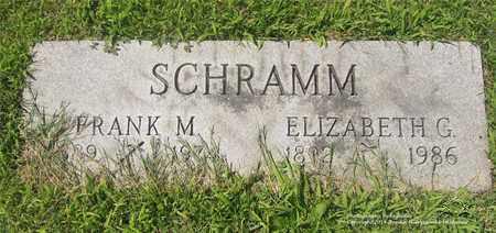 SCHRAMM, ELIZABETH G. - Lucas County, Ohio | ELIZABETH G. SCHRAMM - Ohio Gravestone Photos