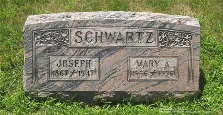 SCHWARTZ, MARY A. - Lucas County, Ohio | MARY A. SCHWARTZ - Ohio Gravestone Photos