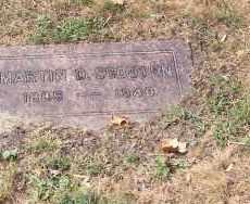 SCOUTEN, MARTIN D - Lucas County, Ohio | MARTIN D SCOUTEN - Ohio Gravestone Photos