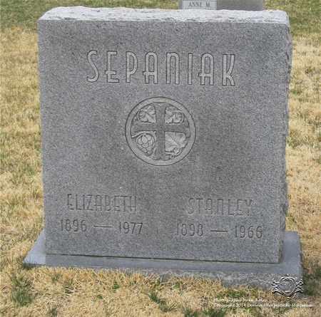 SEPANIAK, STANLEY - Lucas County, Ohio   STANLEY SEPANIAK - Ohio Gravestone Photos