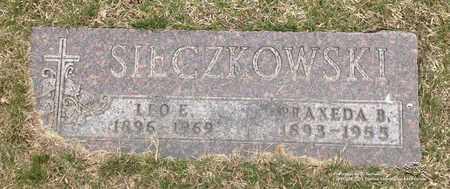 SIECZKOWSKI, PRAXEDA B. - Lucas County, Ohio   PRAXEDA B. SIECZKOWSKI - Ohio Gravestone Photos