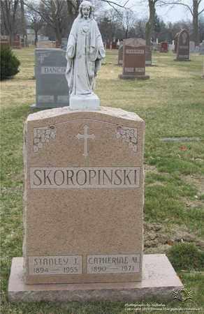 SKOROPINSKI, CATHERINE V. - Lucas County, Ohio   CATHERINE V. SKOROPINSKI - Ohio Gravestone Photos