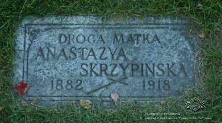 SKRZYPINSKA, ANASTAZYA - Lucas County, Ohio   ANASTAZYA SKRZYPINSKA - Ohio Gravestone Photos