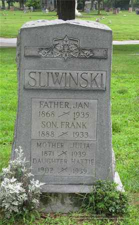 SLIWINSKI, JULIA - Lucas County, Ohio | JULIA SLIWINSKI - Ohio Gravestone Photos