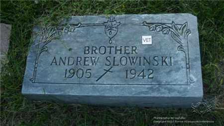 SLOWINSKI, ANDREW - Lucas County, Ohio | ANDREW SLOWINSKI - Ohio Gravestone Photos