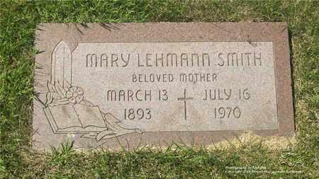 LEHMANN SMITH, MARY - Lucas County, Ohio | MARY LEHMANN SMITH - Ohio Gravestone Photos