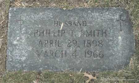 SMITH, PHILLIP T. - Lucas County, Ohio | PHILLIP T. SMITH - Ohio Gravestone Photos