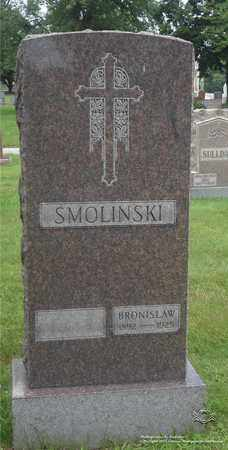 SMOLINSKI, BRONISLAW - Lucas County, Ohio   BRONISLAW SMOLINSKI - Ohio Gravestone Photos