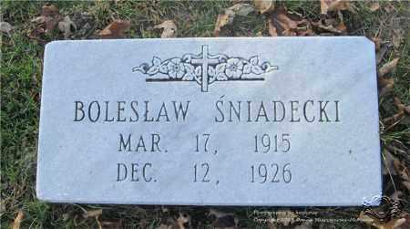 SNIADECKI, BOLESLAW - Lucas County, Ohio | BOLESLAW SNIADECKI - Ohio Gravestone Photos