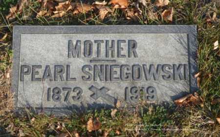 KASPRZAK SNIEGOWSKI, PEARL - Lucas County, Ohio | PEARL KASPRZAK SNIEGOWSKI - Ohio Gravestone Photos