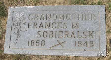 SOBIERALSKI, FRANCES M. - Lucas County, Ohio   FRANCES M. SOBIERALSKI - Ohio Gravestone Photos