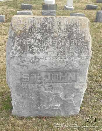 ST. JOHN, DARIUS - Lucas County, Ohio   DARIUS ST. JOHN - Ohio Gravestone Photos