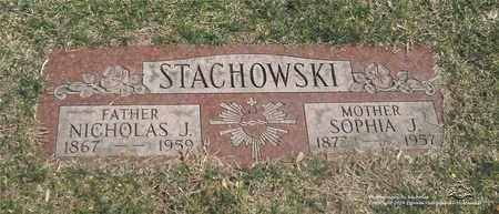 STACHOWSKI, SOPHIA J. - Lucas County, Ohio | SOPHIA J. STACHOWSKI - Ohio Gravestone Photos