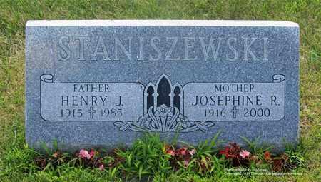 STANISZEWSKI, HENRY J. - Lucas County, Ohio | HENRY J. STANISZEWSKI - Ohio Gravestone Photos